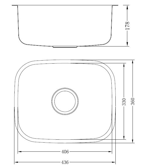 כיור עשוי נירוסטה דגם Novo (44)