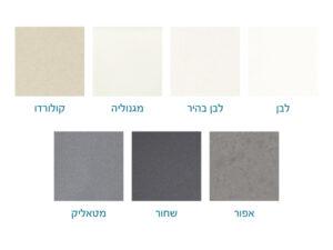מגוון צבעים כיורי גרניט
