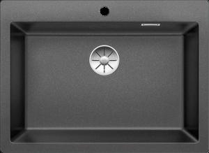 כיור בלנקו פלאון 8 בצבע שחור נצנץ