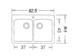 כיור בלנקו דיאמונד 210 המקורי באחריות! – בנטקס מוצרי איכות לבית